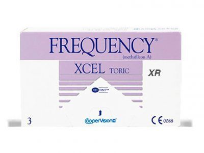 lentillas mensuales Frequency Xcel Toric XR Solextrem