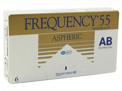 lentillas mensuales Frequency 55 Aspheric Solextrem