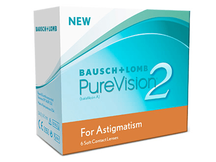 Purevision 2 HD for Astigmatism (6) Solextrem