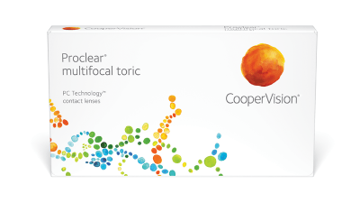 Lentillas mensuales Proclear Multifocal Toric (3) Solextrem